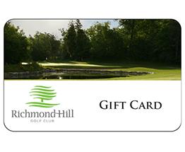 RHGC Gift Cards
